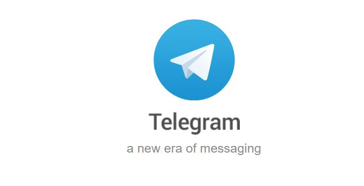 Telegram Start scherm