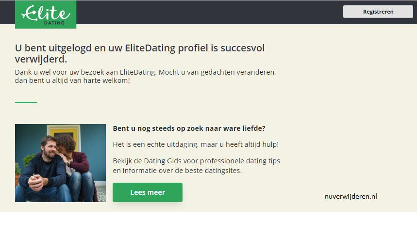 Meer dan 40 dating site