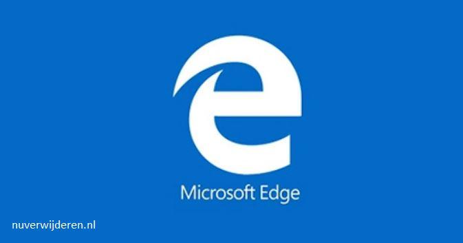 startscherm Microsoft Edge