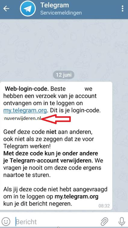 weblogin code Telegram